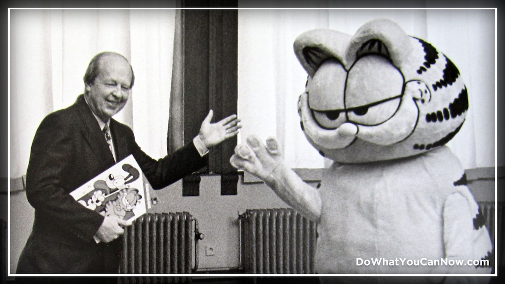 My 3 Close Encounters of the Best Kind with Garfield's Jim Davis