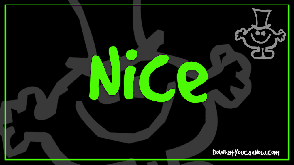 Be Nice To a GRINCH and Be a Different-Day-Maker