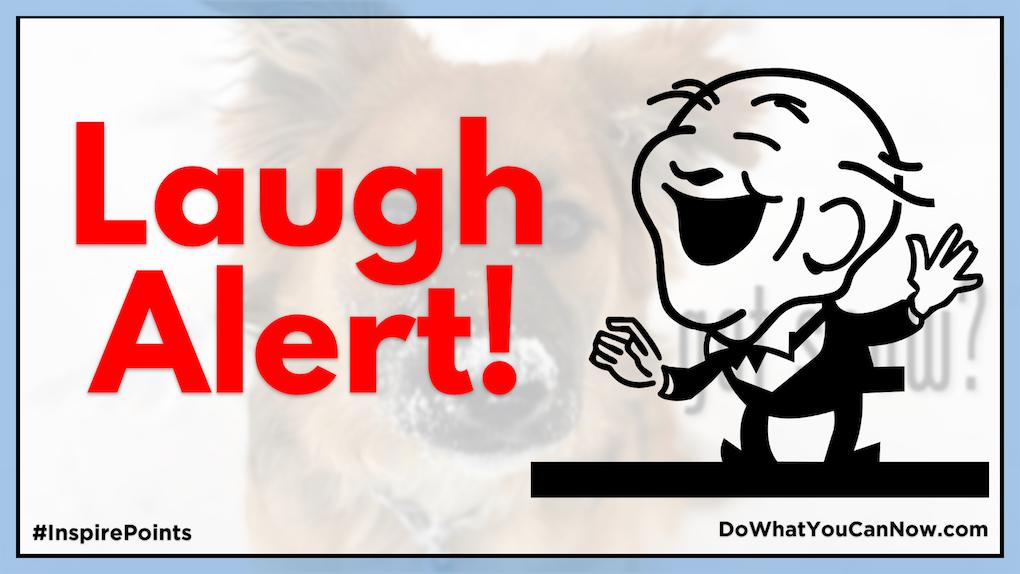 Laugh Alert!