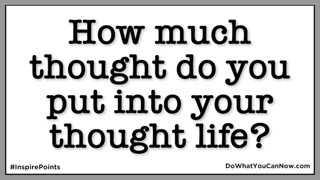 Thoughts On Your ThoughtLife